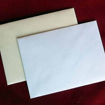 C7 A7 Quality Envelopes Diamond Flap 100gsm RSVP Invitation etc 83 x 112mm
