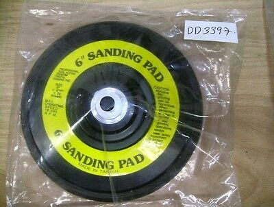 "6"" Sanding Pad Professional Dual Action #Aes 6526/ St (Dd3397-2)"