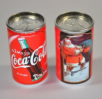 Coca-Cola USA miniatur Always Coke Can mini Dose Motiv Santa im Schnee