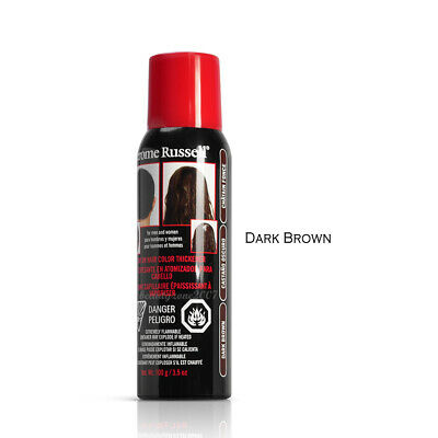 Jerome Russell Spray on Hair Color Thickener - Dark Brown 3.5 oz