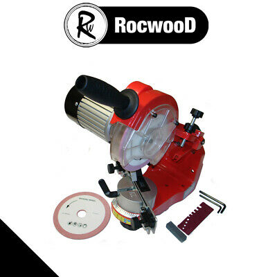 Heavy Duty Bench Mounted Chainsaw Saw Chain Sharpener Grinder Professional User