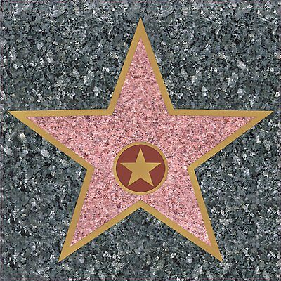 Hollywood Movie Star Peel and Place - 30 cm Awards Night Floor & Wall Decoration