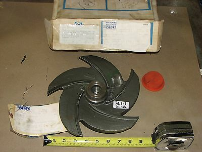Nib Goulds Pump Impeller 0100-594 1013 For Pump Model 3196  1-1/2 X 3 X 10