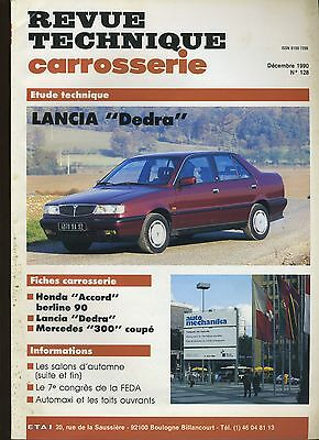 (9A)Revue Technique Carrosserie Lancia Dedra