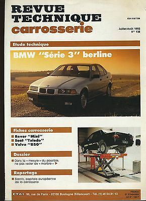(9A)REVUE TECHNIQUE CARROSSERIE BMW série 3 berline
