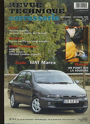 (9A)Revue Technique Carrosserie Fiat Marea