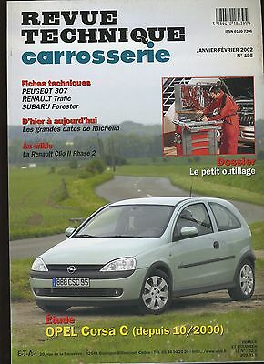 (9A)Revue Technique Carrosserie Opel Corsa C