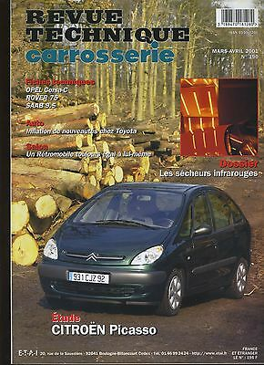 (9A)Revue Technique Carrosserie Citroen Picasso