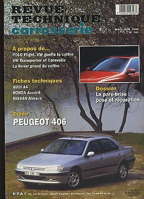 (9A)Revue Technique Carrosserie Peugeot 406