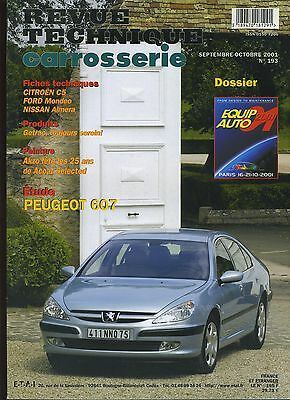 (9A)Revue Technique Carrosserie Peugeot 607