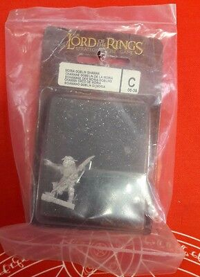 Lord Of The Rings Lotr Moria Goblin Shaman Sciamano 06-39 New Blister Sealed