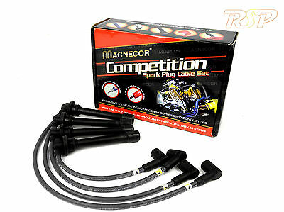 Magnecor 7mm Ignition HT Leads/wire/cable Seat Toledo / SR 1.6i SOHC 8v 4/1999+