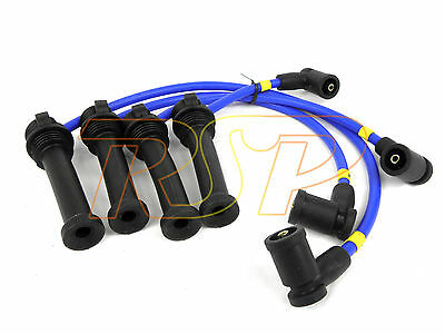 Magnecor 8mm Ignition HT Leads Wires Cable Ford Fiesta ST150 2.0i 16v Duratec