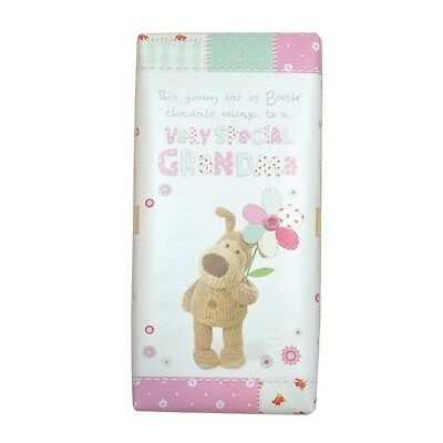 Boofle Special Grandma Bar Chocolate Gift Birthday Christmas Mother's Day Gifts