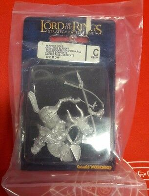 ▲ Lord Of The Rings Serpent Rider Cavalieri Del Serpente Blister Games Workshop
