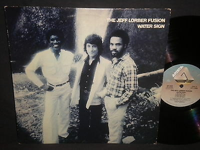 """The Jeff Lorber Fusion """"Water Sign"""" LP"""