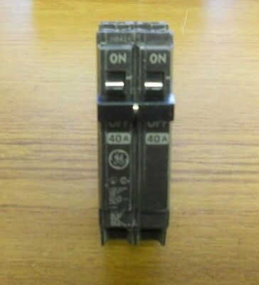 * General Electric 40 Amp 2 Pole Circuit Breaker Thqp240 Thqp2040 ... Vs-143