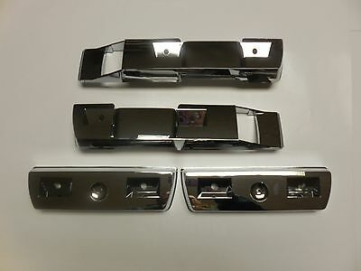 Mopar 68 69 70 71 72 Dart Chrome Armrest Base Set NEW