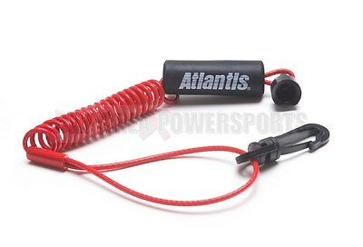 Sea Doo Safety Kill Switch Tether Floating Lanyard Key Red 278001431