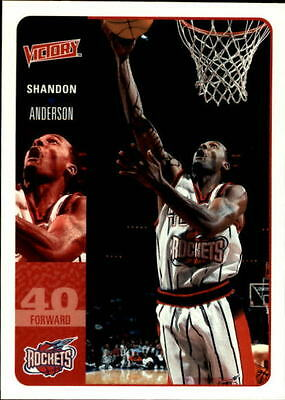 2000-01 Upper Deck Victory #74 Shandon Anderson