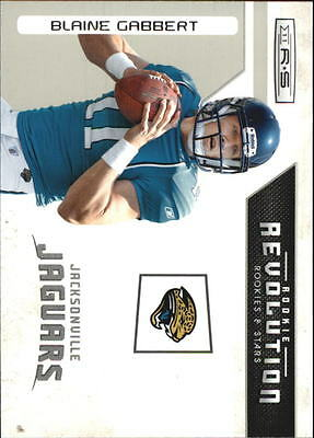 2011 Rookies and Stars Rookie Revolution #1 Blaine Gabbert