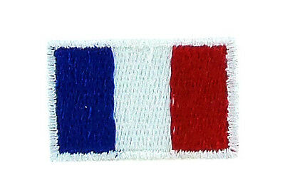 Ecusson Brodé petit FRANCE Français FLAG PATCH Broderie 2x3cm Backpack sac à dos