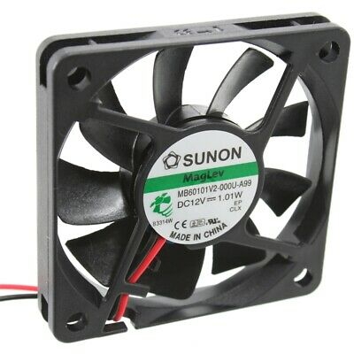 MB60101V3-A99 Axial-Lüfter 60x60x10mm 12V= 19,8m³/h 21,5dBA Sunon = KDE1206PFV3A