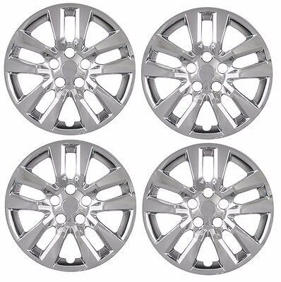 "NEW 16"" CHROME Hubcap Wheelcover SET of 4 that FIT 2007-2018 Nissan ALTIMA"