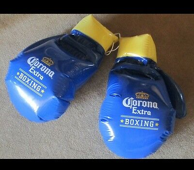 Corona Extra Beer Boxing Gloves Inflatable Blow Up Sign New!!!