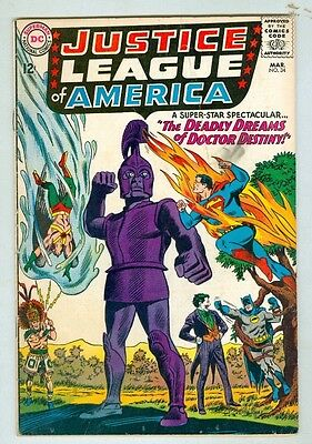 Justice League of America #34 March 1965 VG Joker