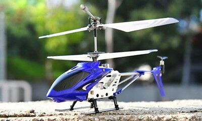 Genuine SYMA S107G 3.5 Channel Metal Remote Control RC Helicopter GYRO LED Light