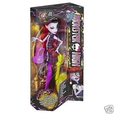 Monster High FREAKY FUSION OPERETTA DOLL FUSED w/ FRANKIE STEIN NEW IN HAND