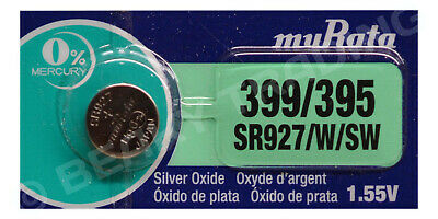 Genuine SONY 395 SR927SW Silver Oxide Watch Battery 1.55v [1-Pack]