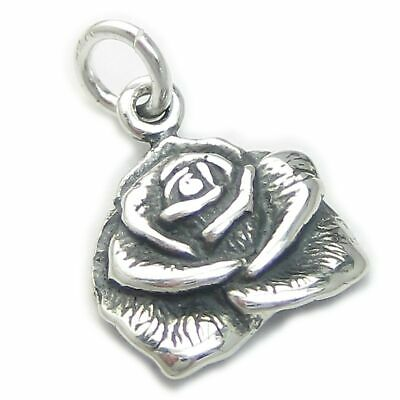 Anchor 2D sterling silver large charm or pendant .925 x 1 Anchors DKC3333
