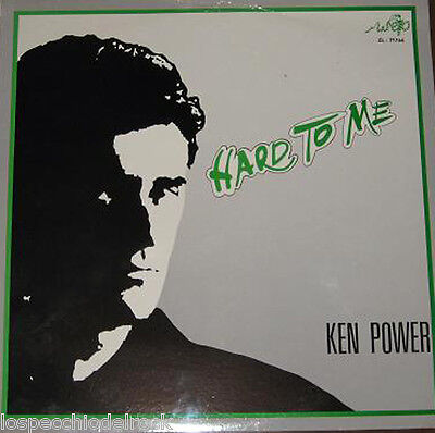 Ken Power ‎ Hard To Me Italo - Disco, Synth-Pop  1988 - A_Stranieri