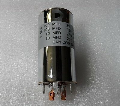 RL Drake Replacement Capacitor Can for the 2-A & 2-B Receiver