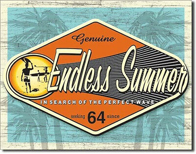 The Endless Summer Movie Poster Tin Sign Reproduction Style B NEW UNUSED