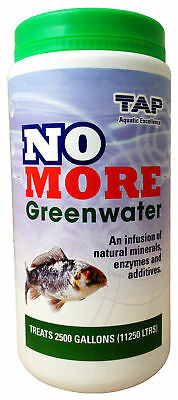 Tap No More Greenwater 1Kg Koi Fish Garden Pond Green Remover Water Treatment Uv
