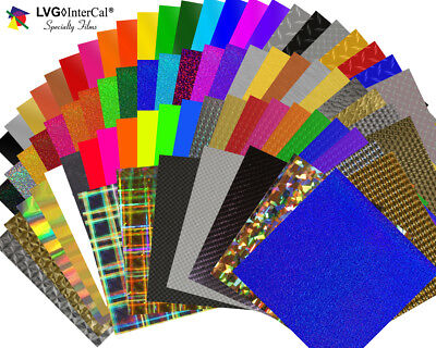 "10 Sheets 12"" X 12""- LVG Specialty Craft & Hobby Cutting Vinyl - *69 Choices*"