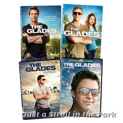 The Glades: Complete TV Series Seasons 1 2 3 4 Box / DVD Set(s) NEW!