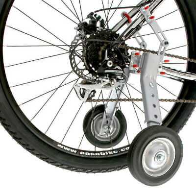 Adjustable Adult Bicycle Bike Training Wheels Fits 24 to 28""""
