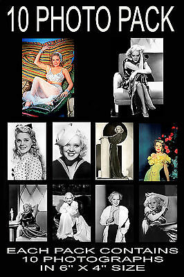 "6""x4"" PHOTOGRAPHS - PACK OF 10 - ALICE FAYE"