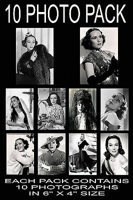 """6""""x4"""" PHOTOGRAPHS - PACK OF 10 - DOLORES DEL RIO"""