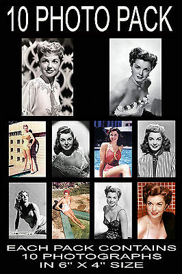 "6""x4"" PHOTOGRAPHS - PACK OF 10 - ESTHER WILLIAMS"