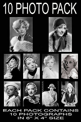 """6""""x4"""" PHOTOGRAPHS - PACK OF 10 - MARION DAVIES"""