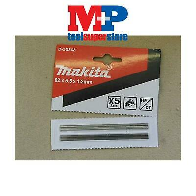 Makita 82Mm Reversible Planer Blades (Pair) To Fit Dewalt & Bosch Planers