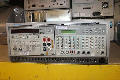 Tektronix Afg5101   Arbitrary  Function Generator Tm5006A Dm5120   Multimeter