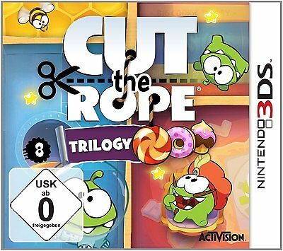 Cut the Rope - Trilogy            Nintendo 3DS          !!!!! NEU&OVP !!!!!