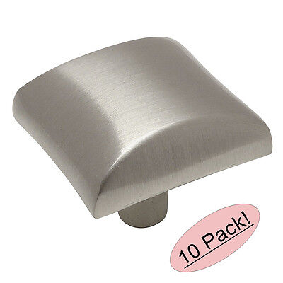 *10 Pack* Cosmas Cabinet Hardware Satin Nickel Cabinet Knobs #4113SN