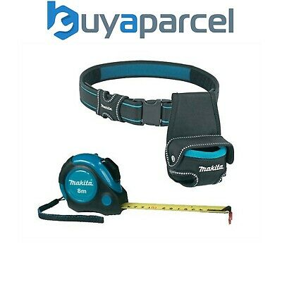 Makita P-73003 Autolock Measuring 8m Tape Measure 8 Metres with Belt and Pouch